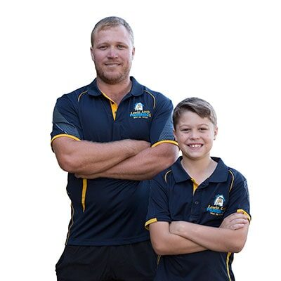 Chris-Lewis-and-Son-Caleb-from-Lewie-Loos-Plumbing-Rockhampton